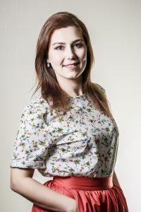 Наталка Лагідна - ведущяя шоу Обед с Приветом