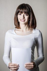 Юлия Лэлэка -диктор новостей
